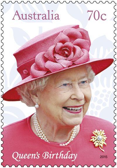 Queen Elizabeth II's birthday celebrated by Australia Post