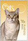 Pet cats celebrated by Australia Post