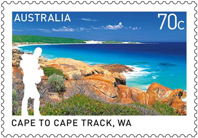 Great Australian bushwalking tracks celebrated in new stamp issue