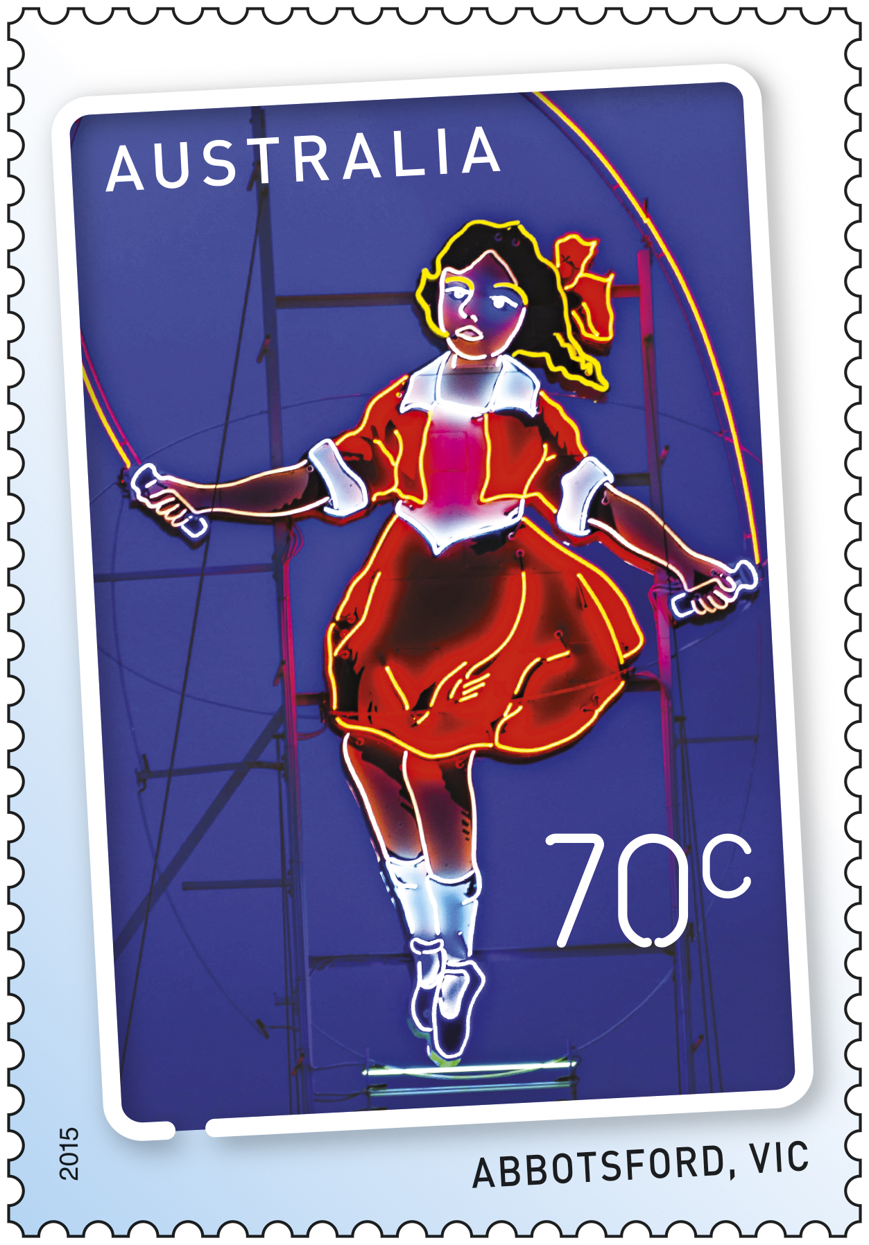 70c Signs of the Times_Skipping Girl - Abbotsford Victoria